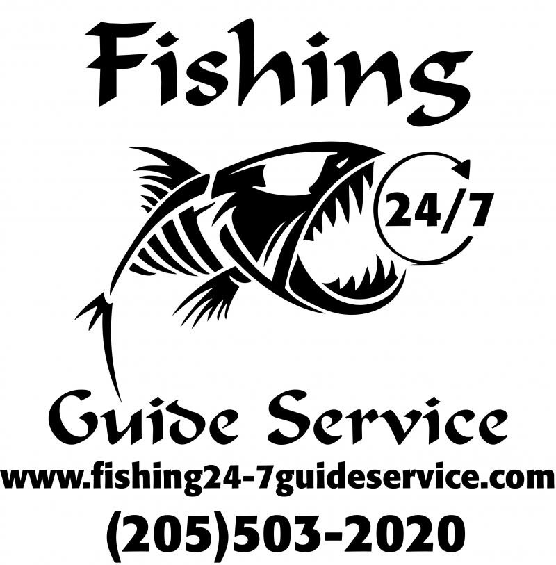 Fishing 24-7 Guide Service - Service & Rates