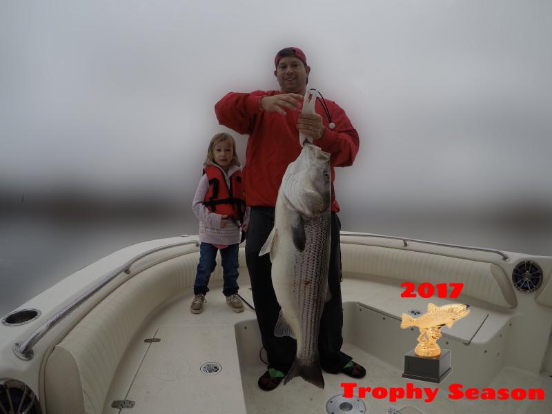 2017 Trophy Striped Bass Season Picture