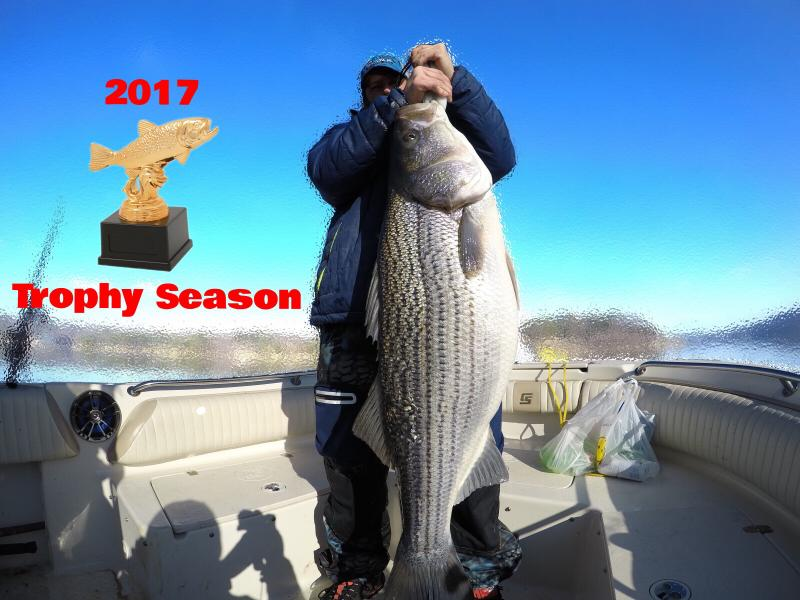 Picture of Mike Walker from 2017 Striper Trip